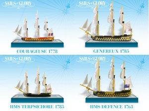 Sails of Glory statki