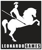 leonardo Games logo