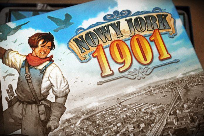 Nowy Jork 1901 gra planszowa