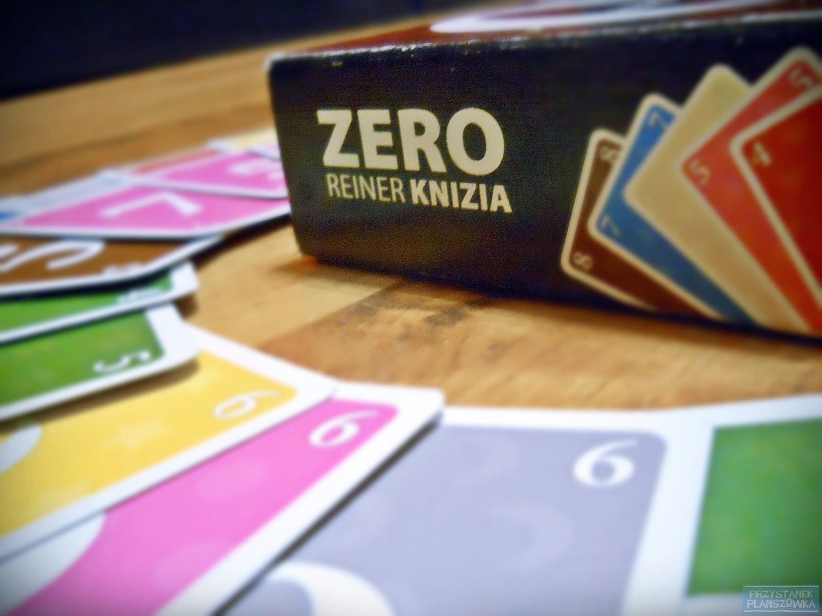 Zero / fot. Przystanek Planszówka