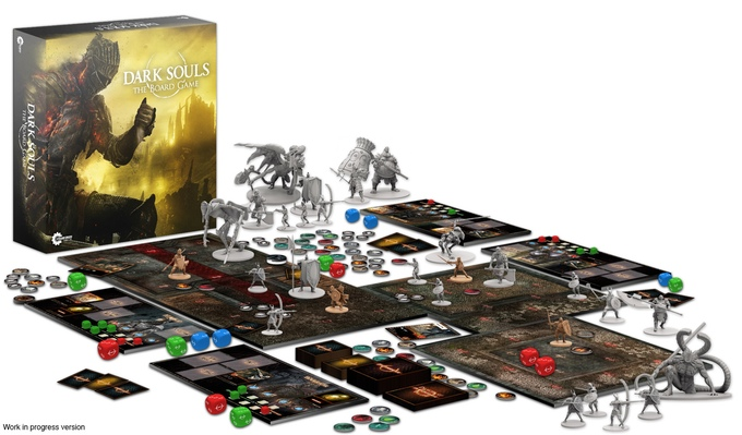 Dark Souls - The Board Game / fot. Kickstarter