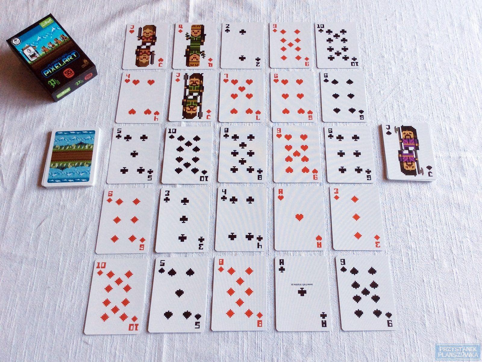Monte Carlo - pasjans 03