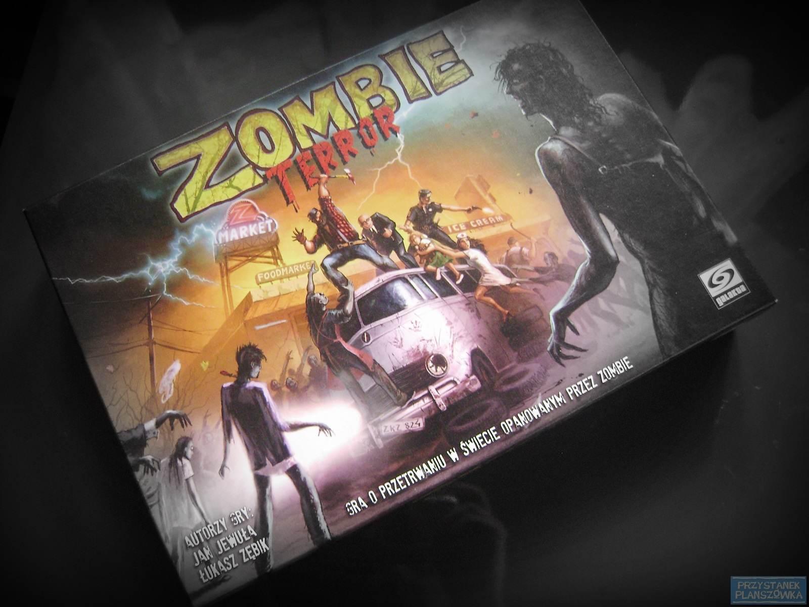 Zombie Terror / fot. Przystanek Planszówka