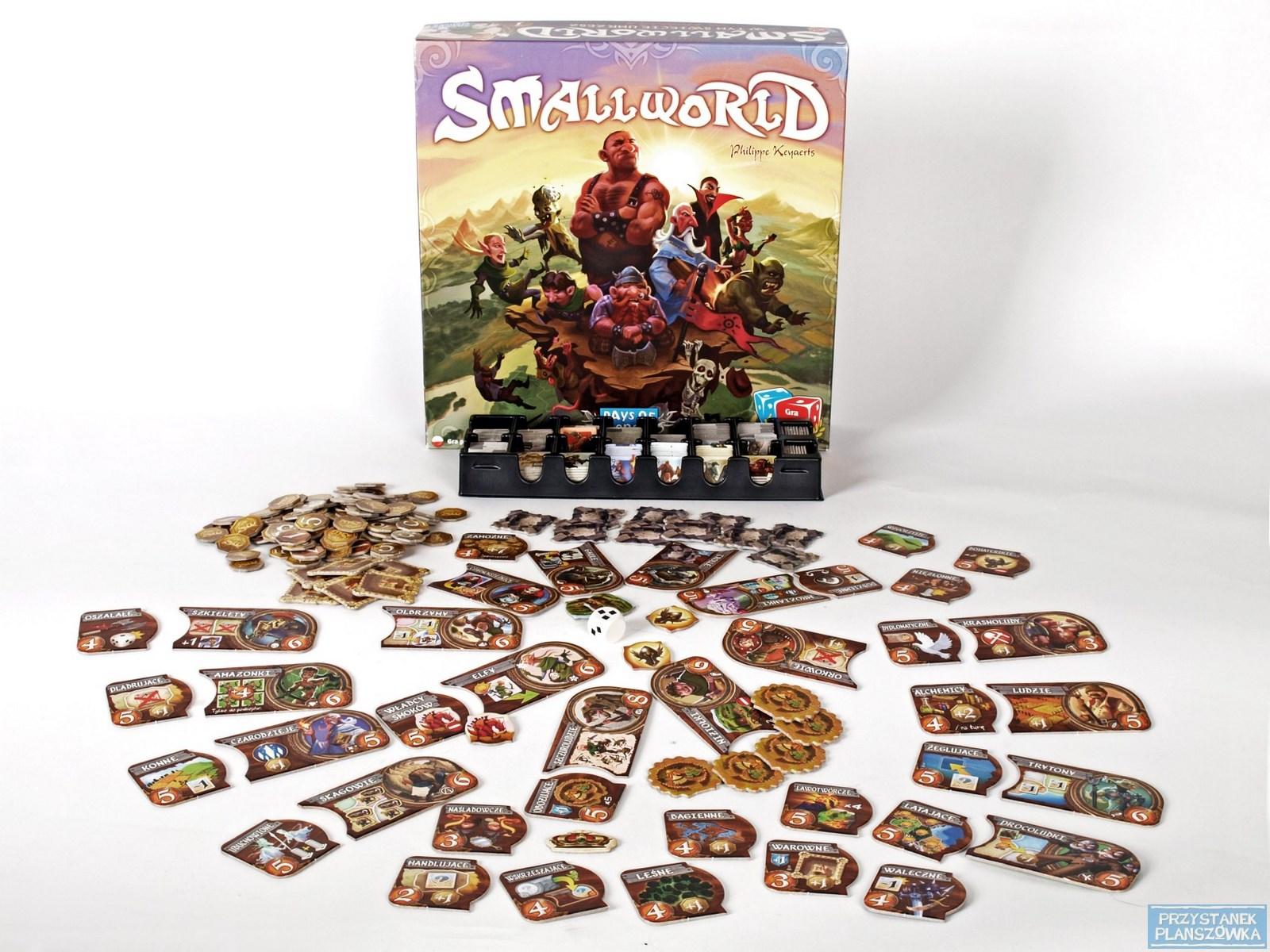 Small World / fot. Przystanek Planszówka