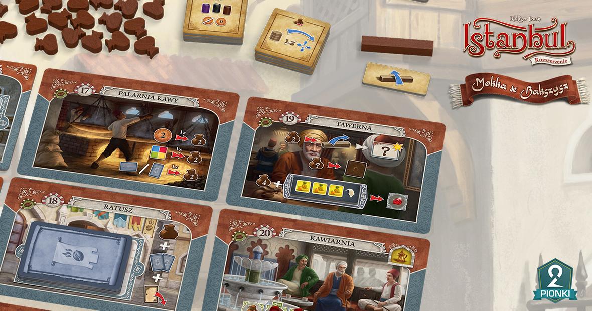Istanbul: Mokka i Bakszysz / fot. Portal Games