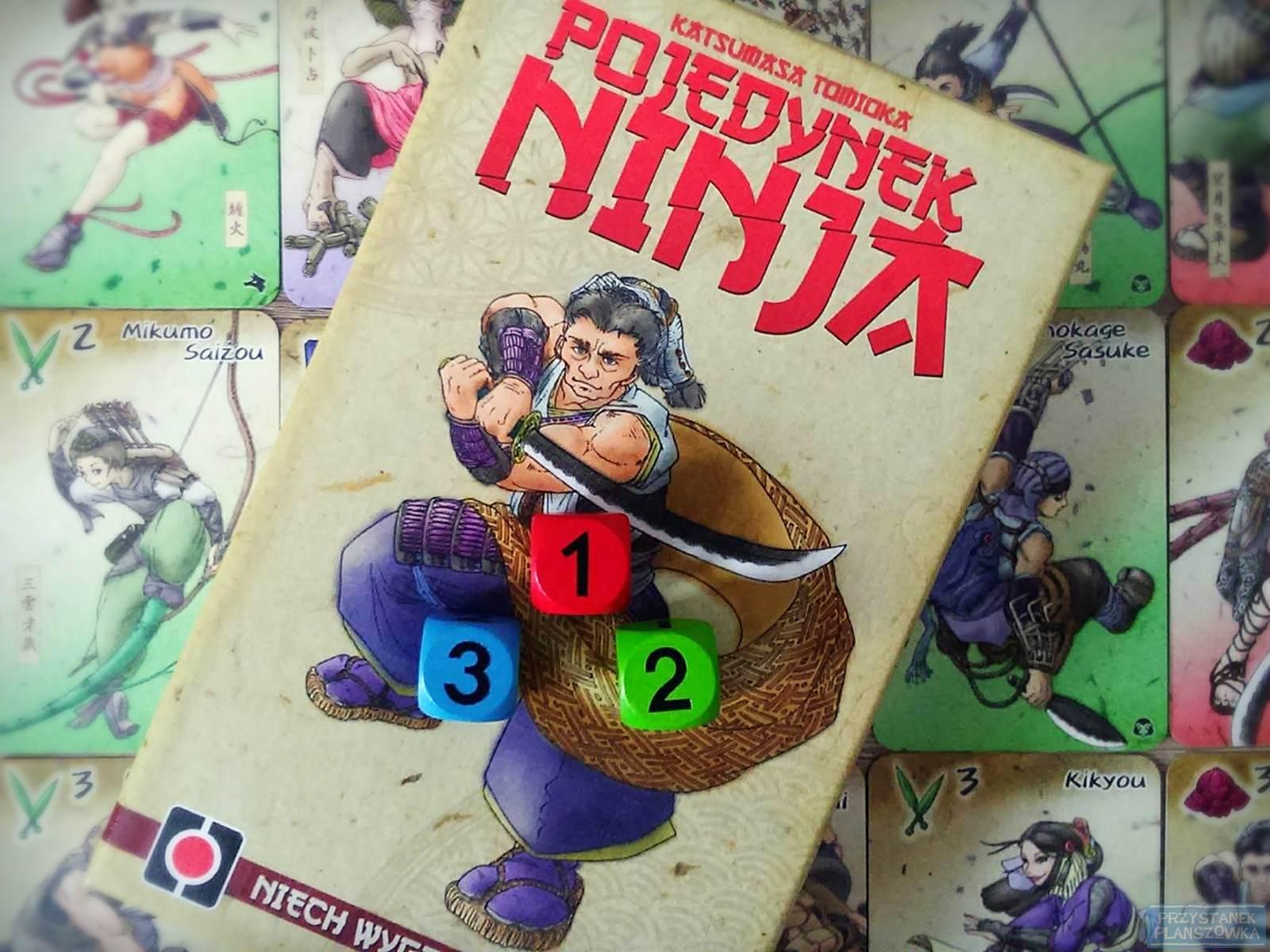 Pojedynek Ninja / fot. Przystanek Planszówka