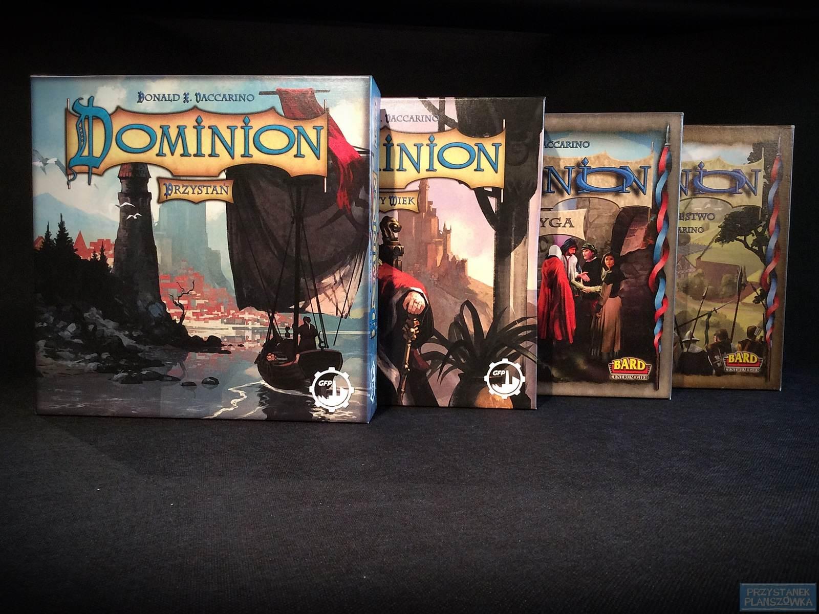 Dominion / fot. Przystanek Planszówka