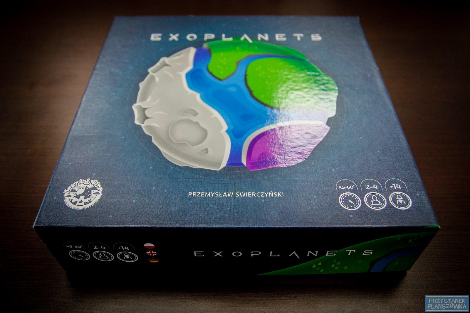 Exoplanets / fot. Przystanek Planszówka