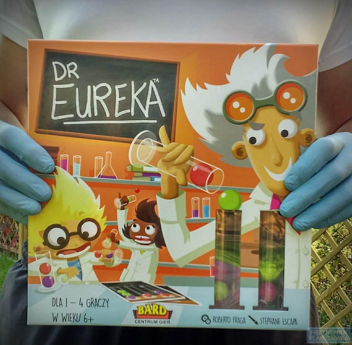 Dr Eureka / fot. Przystanek Planszówka