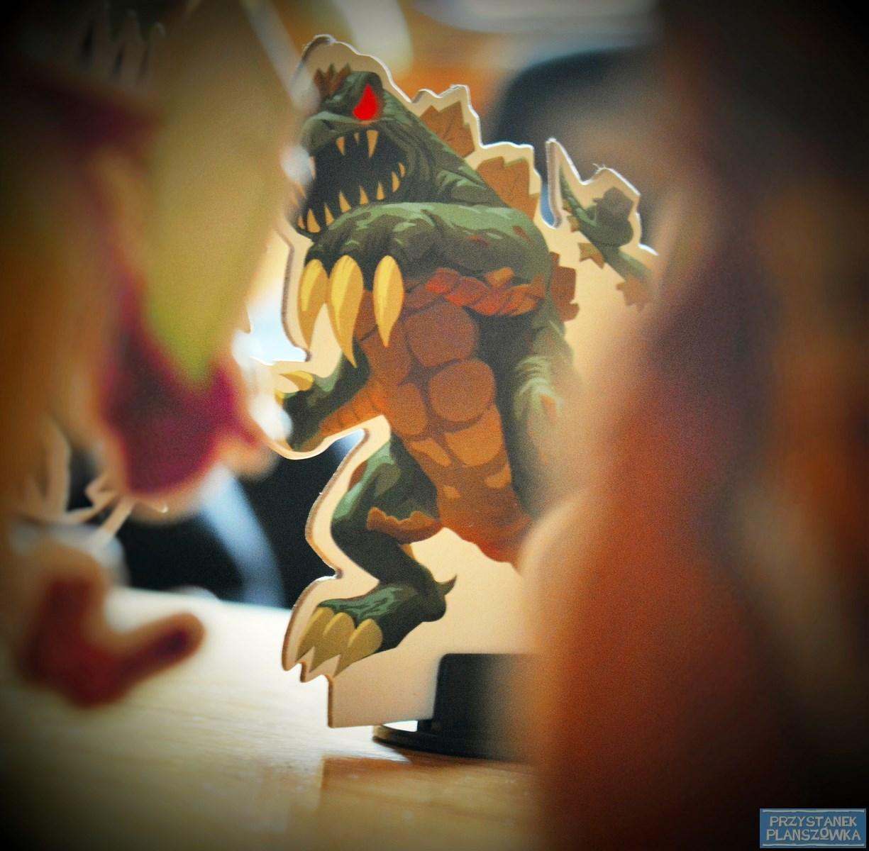 Potwory w Tokio / fot. Przystanek Planszówka
