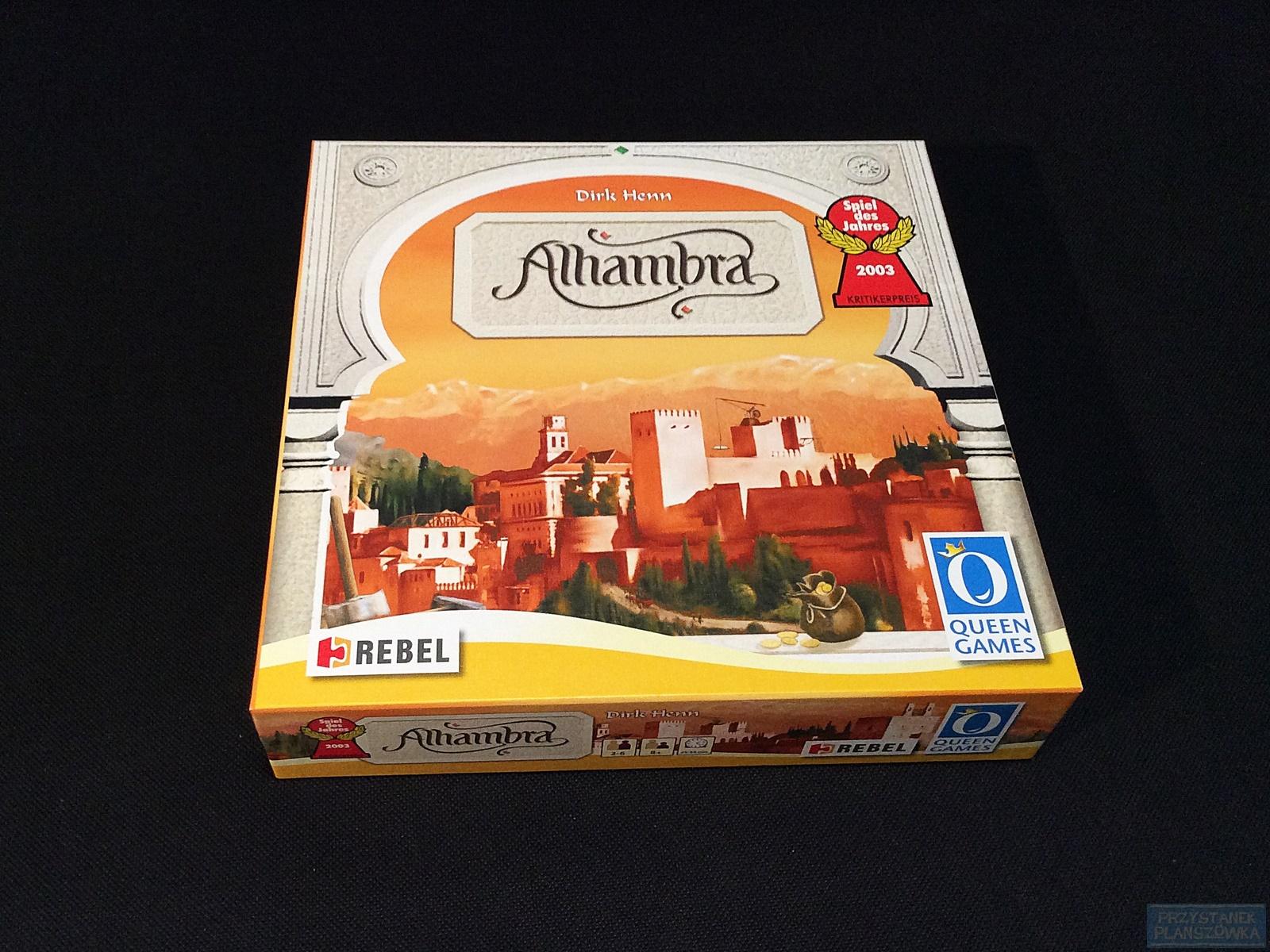 Alhambra / fot. Przystanek Planszówka