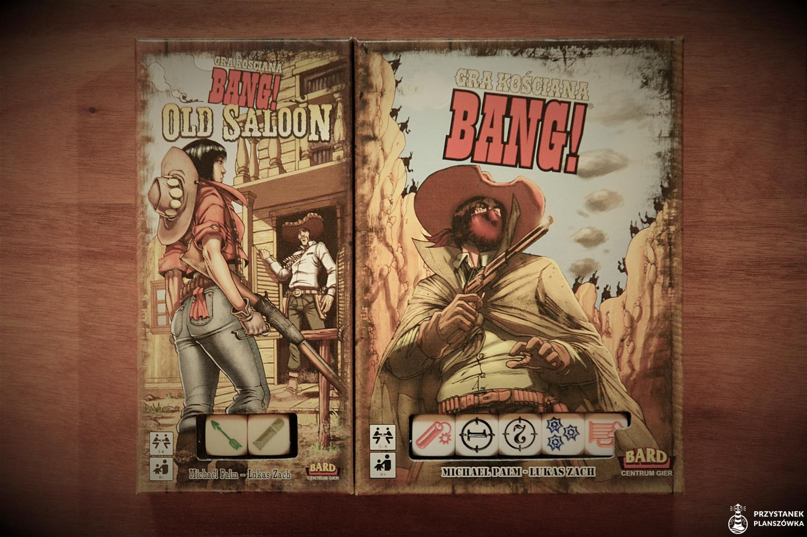 Bang! Gra kościana i Old Saloon